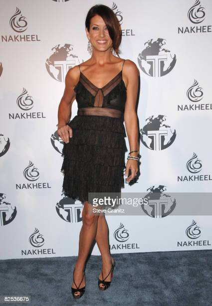 Kate Walsh arrives at The Trump International Hotel Tower Dubai on August 23 2008 in Los Angeles California