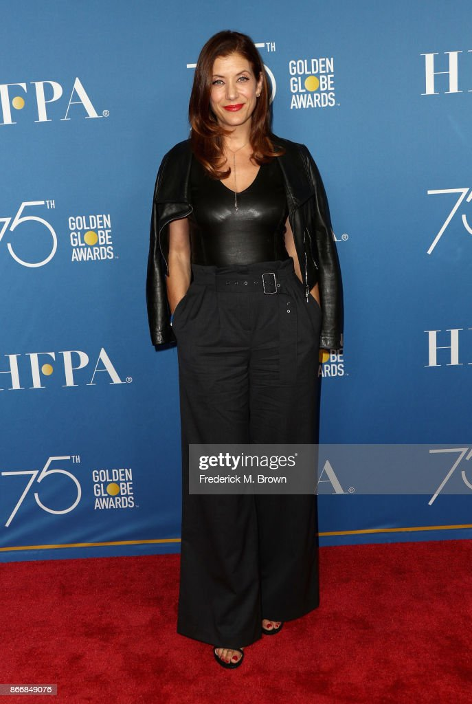 Kate Walsh attends Hollywood Foreign Press Association Hosts Television Game Changers Panel Discussion at The Paley Center for Media on October 26, 2017 in Beverly Hills, California.
