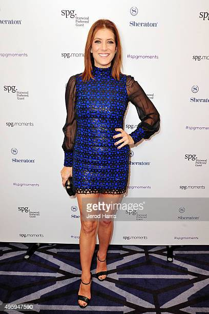 Kate Walsh attends intimate SPG 2015 Hear the Music See the World Music Performance at Sheraton Downtown Los Angeles on November 5 2015 in Los...