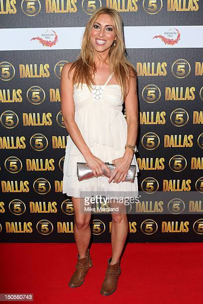 Kate Walsh attends party to celebrate the new Channel 5 television series of 'Dallas' at Old Billingsgate on August 21 2012 in London United Kingdom