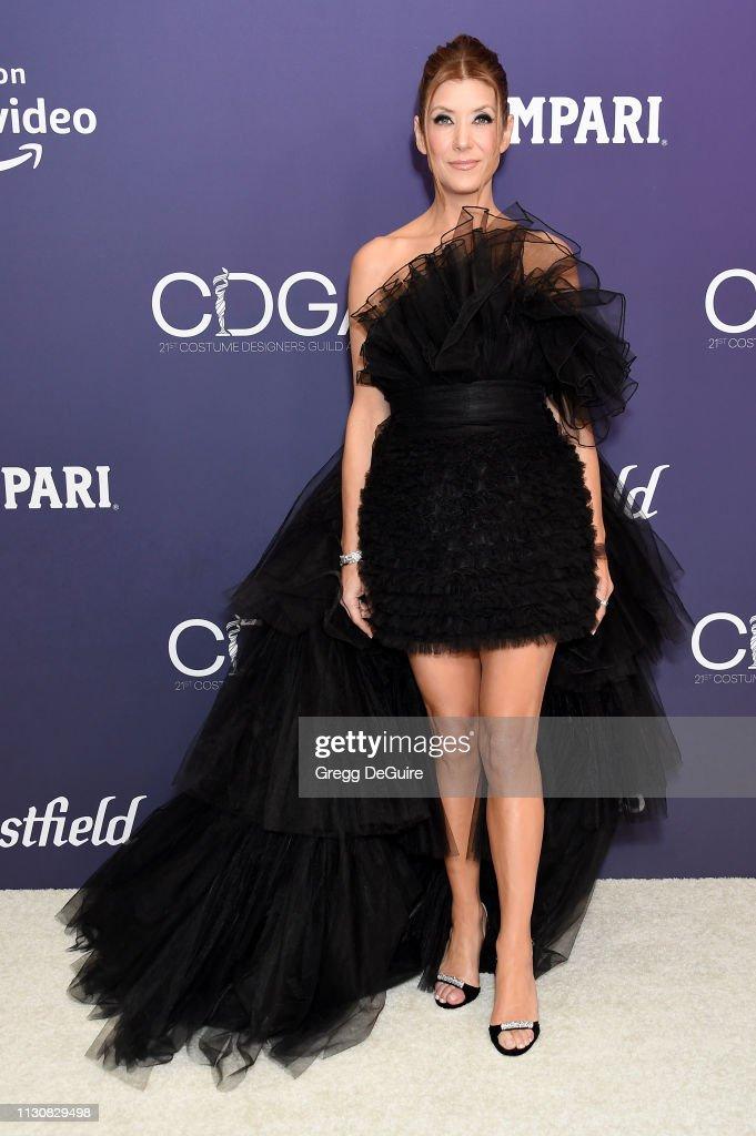 21st CDGA (Costume Designers Guild Awards) - Arrivals : Fotografía de noticias