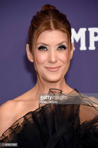Kate Walsh attends The 21st CDGA at The Beverly Hilton Hotel on February 19 2019 in Beverly Hills California