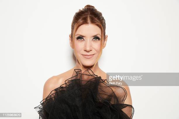 Kate Walsh attends the 21st Costume Designers Guild Awards x Getty Images Portrait Studio presented by LG V40 ThinQ on February 19 2019 in Beverly...