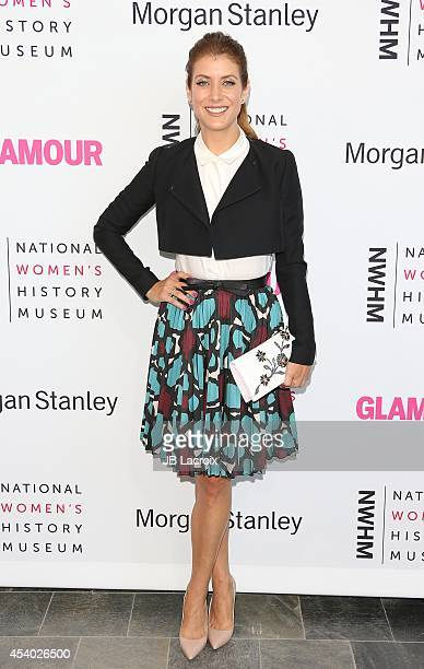 Kate Walsh attends the 3rd Annual Women Making History Brunch presented by the National Women's History Museum and Glamour Magazine at the Skirball...
