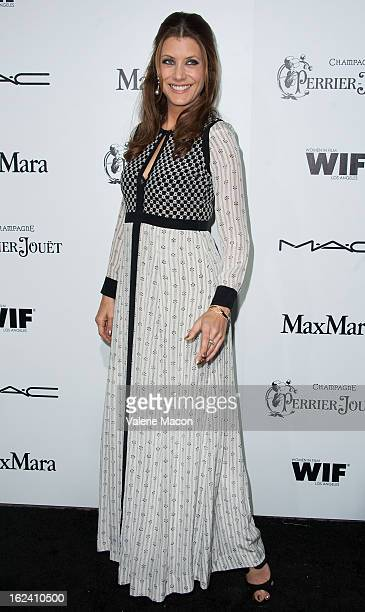 Kate Walsh attends the 6th Annual Women In Film PreOscar Party hosted by Perrier Jouet MAC Cosmetics and MaxMara at Fig Olive Melrose Place on...