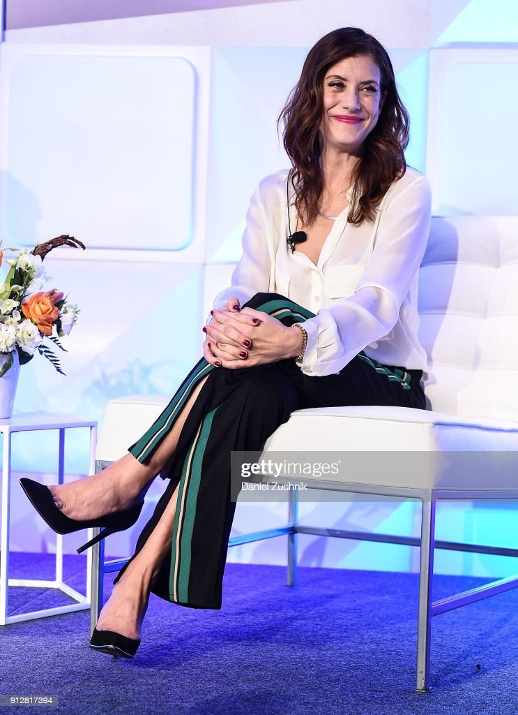 Kate Walsh attends the #BlogHer18 Health Conference at Tribeca 360 on January 31, 2018 in New York City.