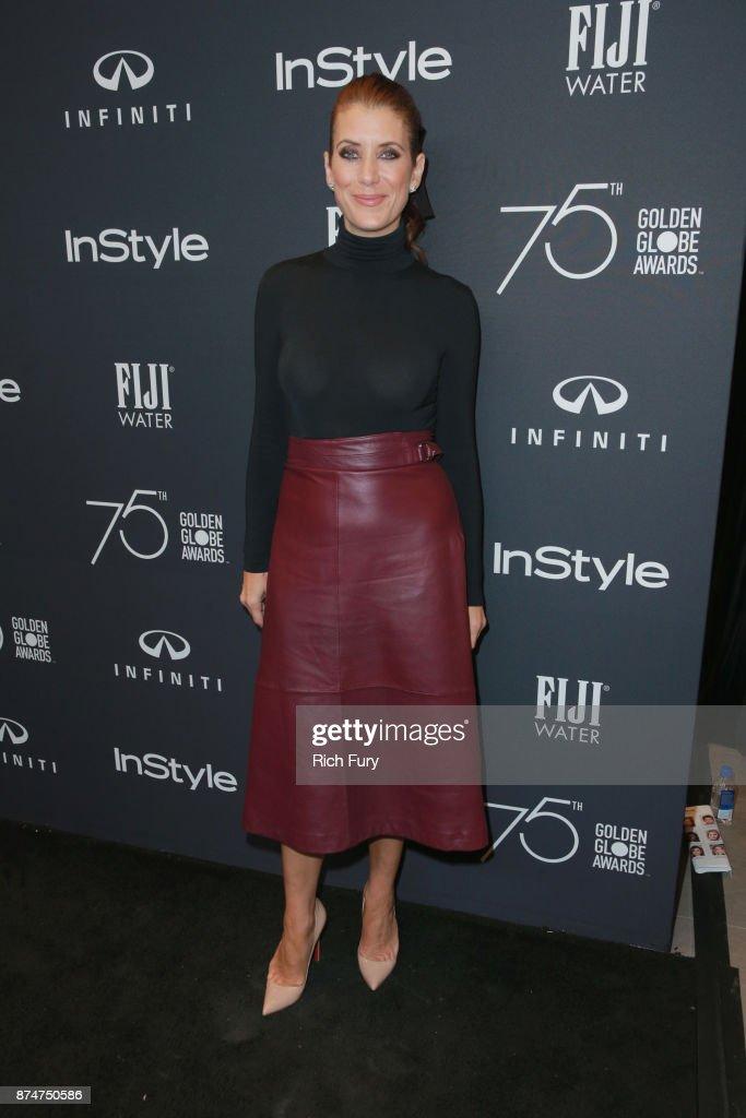 Kate Walsh attends the Hollywood Foreign Press Association and InStyle celebrate the 75th Anniversary of The Golden Globe Awards at Catch LA on November 15, 2017 in West Hollywood, California.
