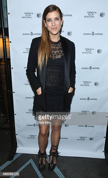 Kate Walsh attends the 'Just Before I Go' Premiere after party during the 2014 Tribeca Film Festival sponsored by Bombay Sapphire at The Flatiron...