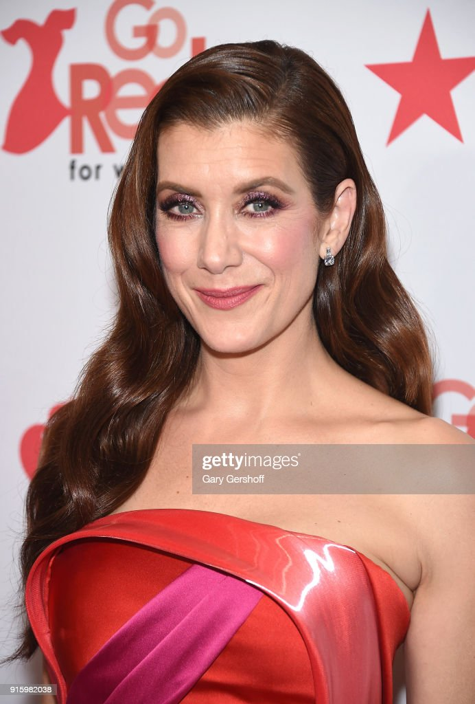 Kate Walsh attends the Red Dress / Go Red For Women Fashion Show at Hammerstein Ballroom on February 8, 2018 in New York City.