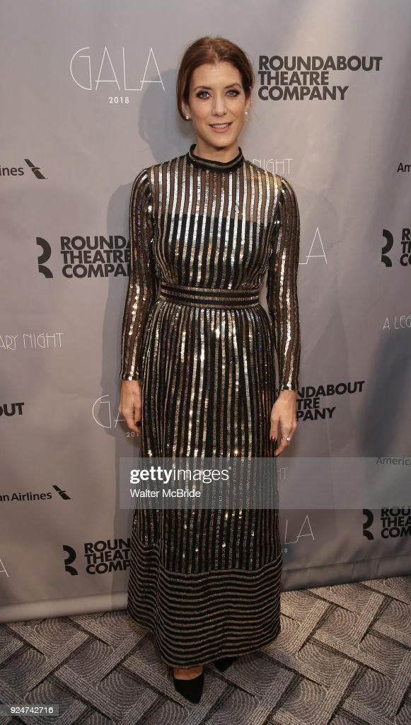 Kate Walsh attends the Roundabout Theatre Company's 2018 Gala 'A Legendary Night' on February 26, 2018 at the The Ziegfeld Ballroom in New York City.