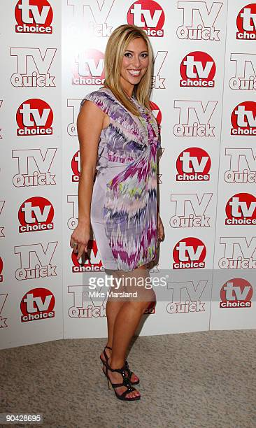 Kate Walsh attends the TV Quick Tv Choice Awards at The Dorchester on September 7 2009 in London England