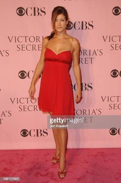 Kate Walsh during 11th Victoria's Secret Fashion Show Arrivals at Kodak Theatre in Hollywood California United States