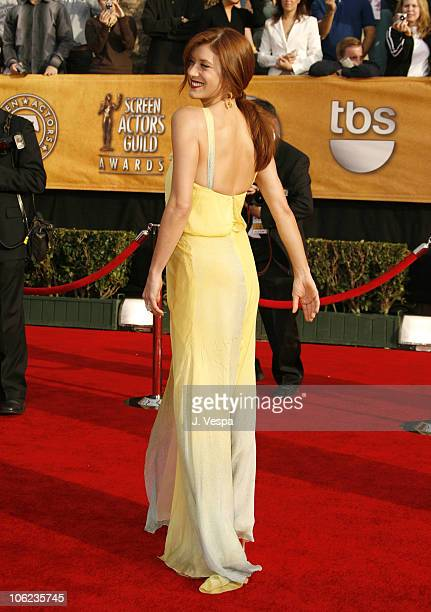 Kate Walsh during 13th Annual Screen Actors Guild Awards - Arrivals at Shrine Auditorium in Los Angeles, California, United States.
