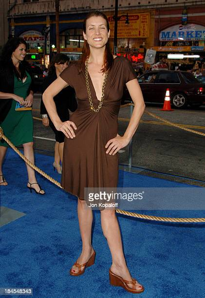 """Kate Walsh during """"Poseidon"""" Los Angeles Premiere - Arrivals at GraumanIs Chinese Theater in Hollywood, California, United States."""