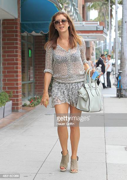 Kate Walsh is seen on August 06 2015 in Los Angeles California