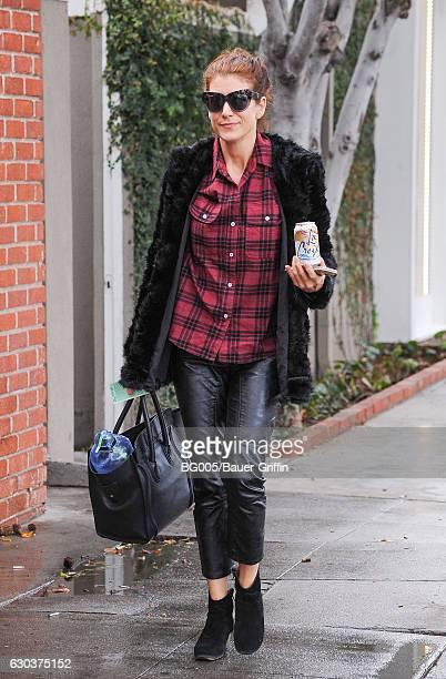 Kate Walsh is seen on December 21 2016 in Los Angeles California