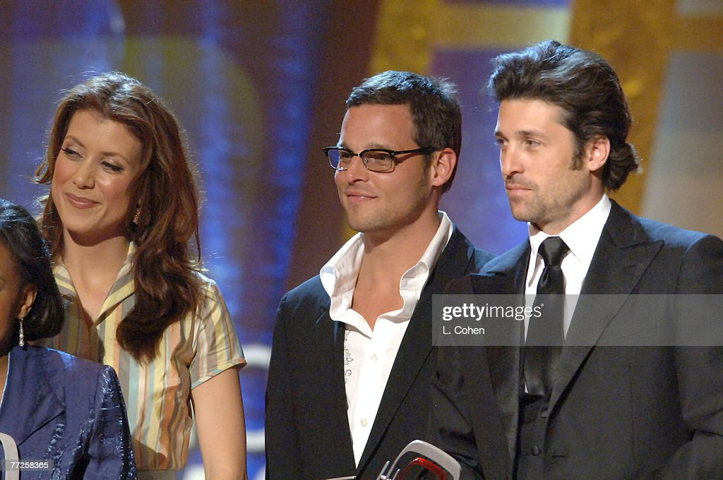 Kate Walsh Justin Chameber And Patrick Dempsey Winners Of The