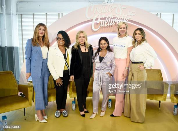 Kate Walsh Lisa Price Anastasia Soare Cyndi Ramirez Holly Thaggard and Lilit Caradanian attend Create Cultivate New York presented by Mastercard at...