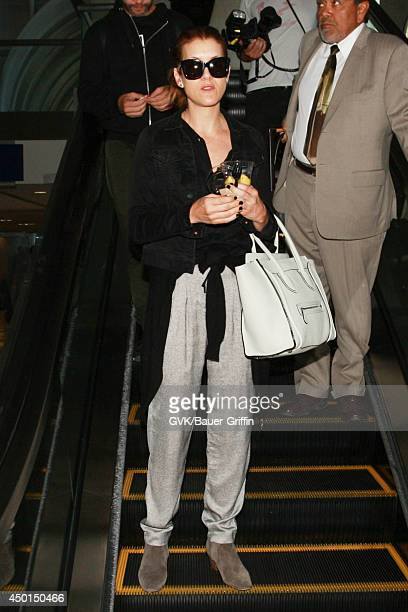 Kate Walsh seen at LAX on June 05 2014 in Los Angeles California