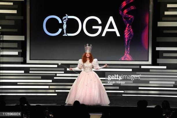 Kate Walsh speaks onstage during The 21st CDGA at The Beverly Hilton Hotel on February 19 2019 in Beverly Hills California