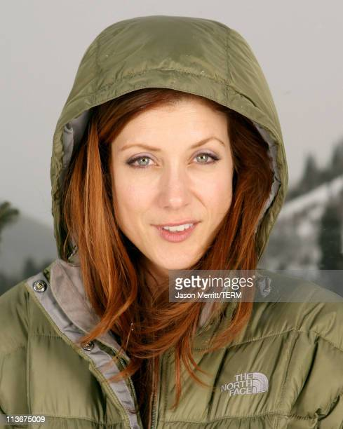 Kate Walsh wearing The North Face at The Ice Lounge presented by The North Face Lexus and St Regis*Exclusive*