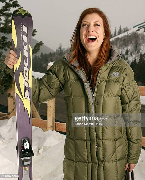 Kate Walsh wearing The North Face with Stockli at The Ice Lounge presented by The North Face Lexus and St Regis*Exclusive*