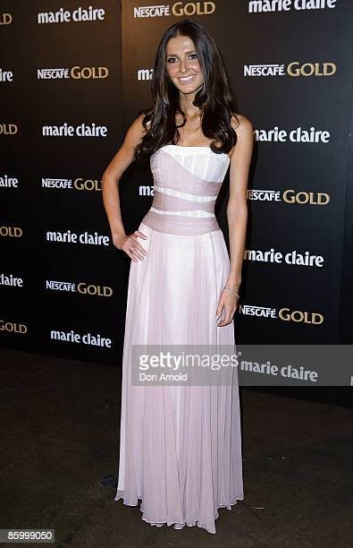 Kate Waterhouse arrives for the 2009 Prix de Marie Claire Awards at the Royal Hall of Industries on April 16 2009 in Sydney Australia