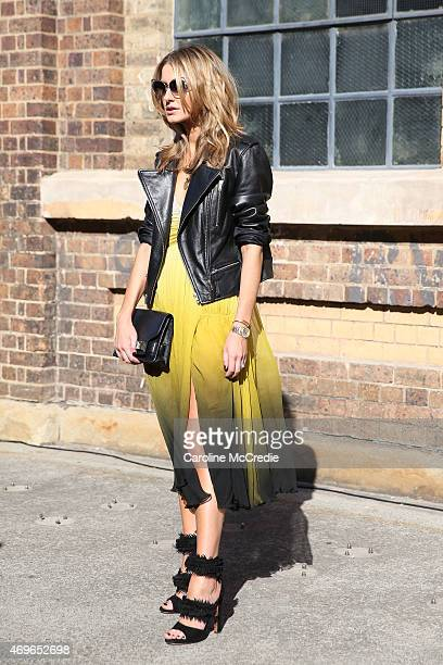 Kate Waterhouse at MercedesBenz Fashion Week Australia 2015 at Carriageworks on April 14 2015 in Sydney Australia