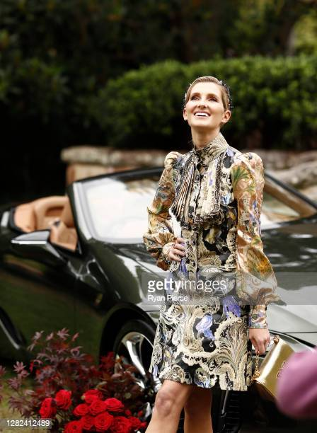 Kate Waterhouse attends the 2020 Melbourne Cup Carnival Sydney Launch at Vaucluse House on October 27 2020 in Sydney Australia