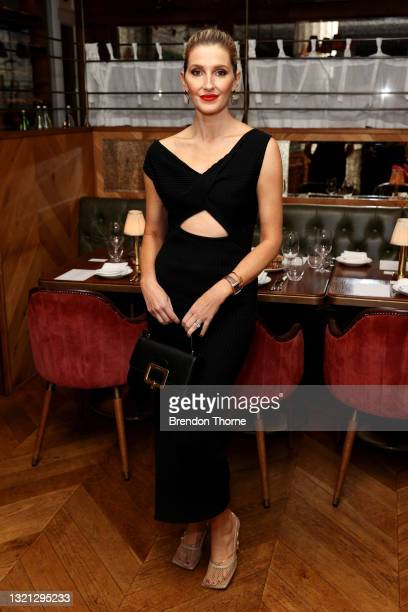 Kate Waterhouse attends the Anna Quan show during Afterpay Australian Fashion Week 2021 Resort '22 Collections at Franca Brasserie on June 02, 2021...