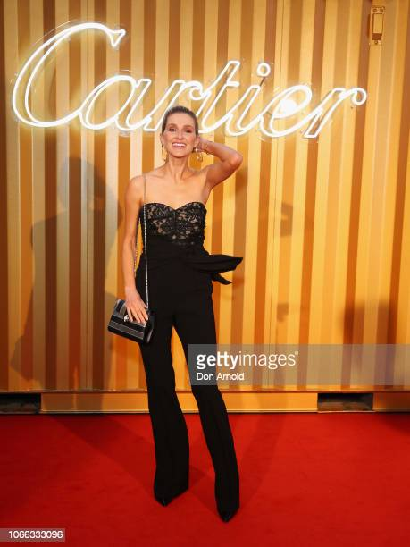 Kate Waterhouse attends the Cartier Precious Garage Party on November 29 2018 in Sydney Australia