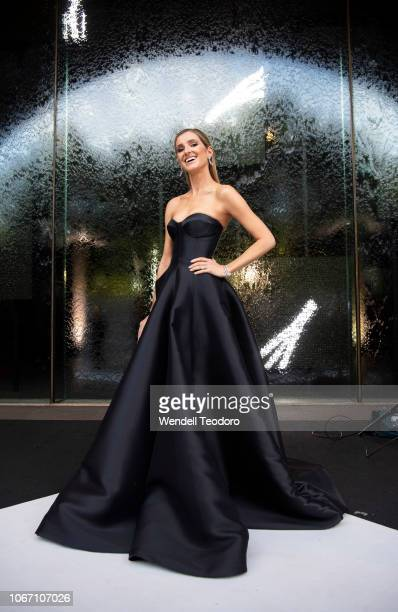 Kate Waterhouse attends the NGV Gala 2018 at National Gallery of Victoria on December 1 2018 in Melbourne Australia