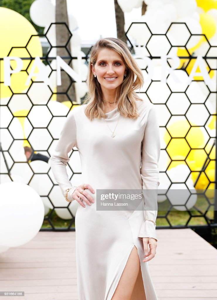 Kate Waterhouse attends the Pandora Gold Party at The Calyx on March 14, 2018 in Sydney, Australia.