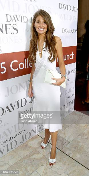 Kate Waterhouse during David Jones Winter 2005 Collections Launch Arrivals and Runway at Sydney Town Hall in Sydney New South Wales Australia