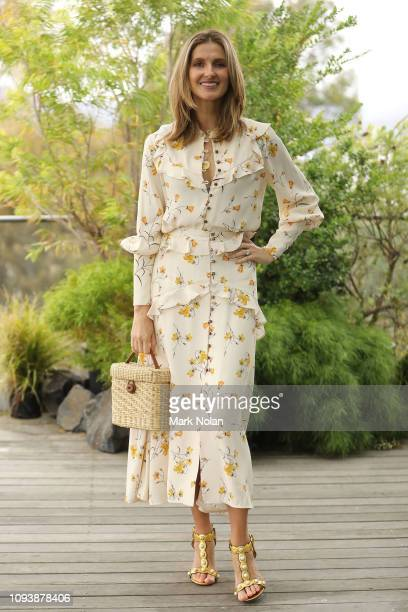 Kate Waterhouse poses during The Art of Entertaining event ahead of the David Jones AW19 Season Launch 'The Art of Living' at The Museum of Old and...