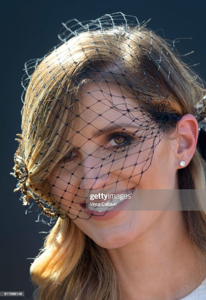 Kate Waterhouse poses during the VRC Melbourne Cup Sponsorship Announcement at Flemington Racecourse on February 13, 2018 in Melbourne, Australia. The VRC announced global luxury lifestyle brand Lexus as the new Melbourne Cup Principal Partner at Flemington Racecourse.