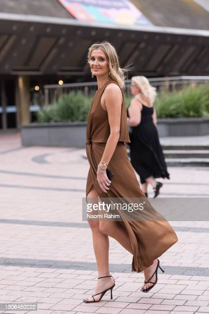 Kate Waterhouse Ricketson at Melbourne Fashion Festival at National Gallery of Victoria on March 11, 2021 in Melbourne, Australia.