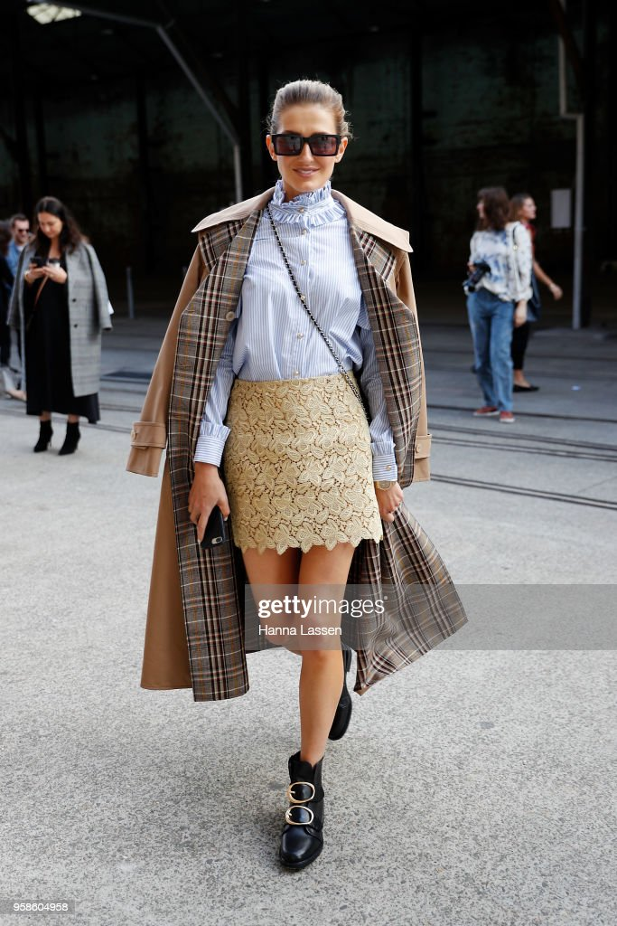 Street Style - Mercedes-Benz Fashion Week Australia 2018
