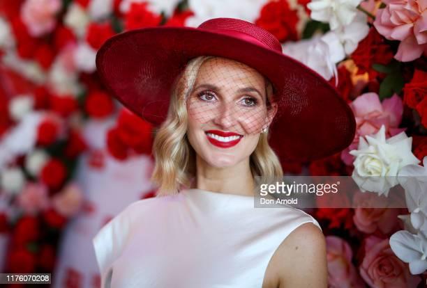 Kate Waterhouseattends Colgate Optic White Stakes Day at Royal Randwick Racecourse on September 21 2019 in Sydney Australia
