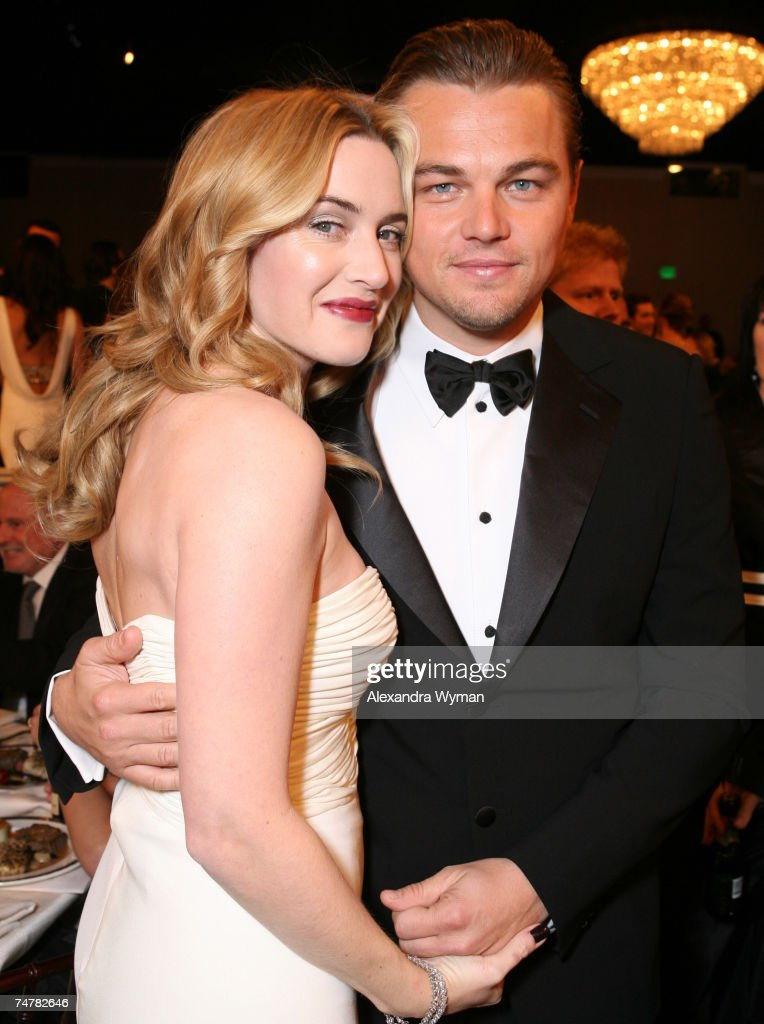 Moet & Chandon Inside Ballroom at the 64th Annual Golden Globe Awards : News Photo