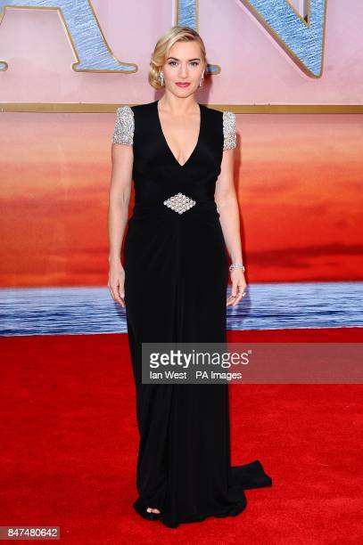 Kate Winslet arriving for the World Premiere of Titanic 3D at the Royal Albert Hall Prince Consort Rd London
