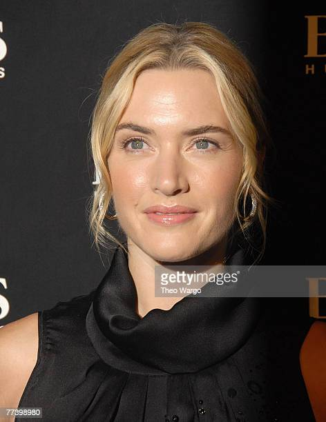 Kate Winslet at the BOSS Black Spring 2008 Fashion Show at the Cunard Building in New York City on October 17, 2007