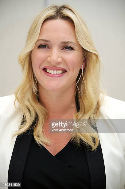 Kate Winslet at the 'Labor Day' Press Conference at the Trump International Hotel on September 8 2013 in Toronto Ontario
