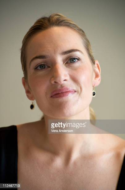 Kate Winslet at the 'Revolutionary Road' press conference at the Four Seasons Hotel on November 16 2008 in Beverly Hills California