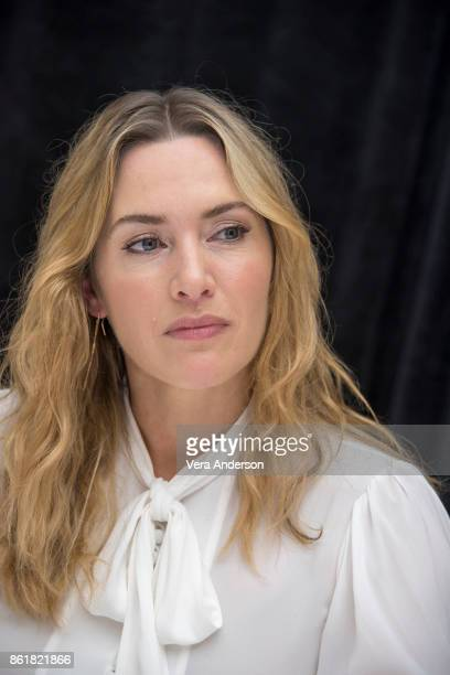 Kate Winslet at the Wonder Wheel Press Conference at the RitzCarlton Hotel on October 14 2017 in New York City