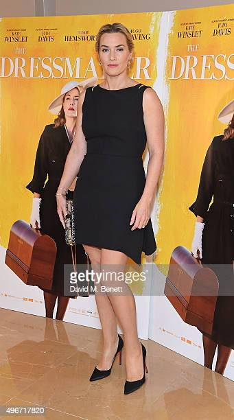 Kate Winslet attends a special screening of 'The Dressmaker' at May Fair Hotel on November 11 2015 in London England