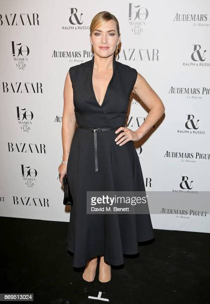 Kate Winslet attends Harper's Bazaar Women of the Year Awards in association with Ralph Russo Audemars Piguet and MercedesBenz at Claridge's Hotel on...