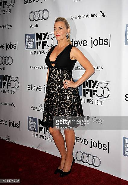 Kate Winslet attends the 53rd New York Film Festival Steve Jobs screening at Alice Tully Hall on October 3 2015 in New York City
