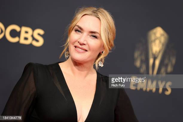 Kate Winslet attends the 73rd Primetime Emmy Awards at L.A. LIVE on September 19, 2021 in Los Angeles, California.