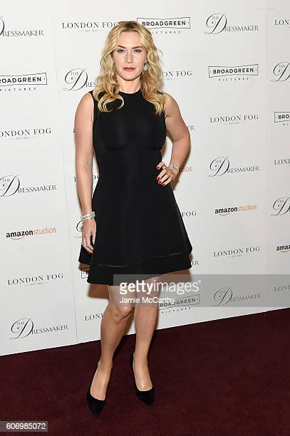 Kate Winslet attends 'The Dressmaker' New York Screening at Florence Gould Hall Theater on September 16 2016 in New York City